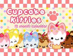 Cupcake Kitties Calendar by celesse (print image)