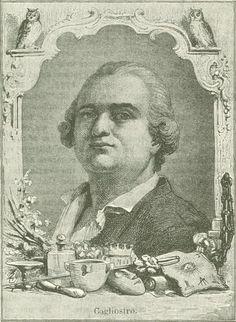 Count Cagliostro portrait