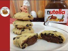 Nutellalı kurabiye tarifi - YouTube