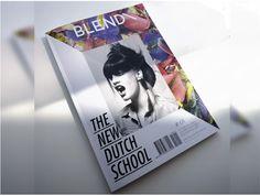 blend magazine cover