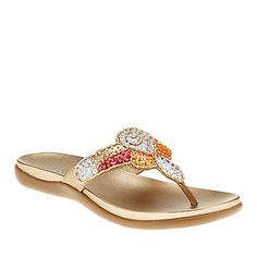 Kenneth Cole Reaction Womens Fab Glam Thong Sandals :: Womens Shoes :: Casual Sandals :: FootSmart