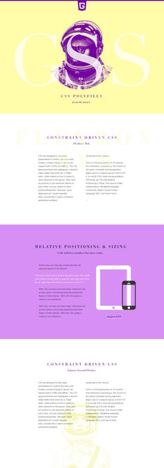 GSS by Leigh Taylor, via Behance #grafica #web colori