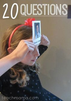 20 questions game: homemade, personal, and fun party game for kids of all ages