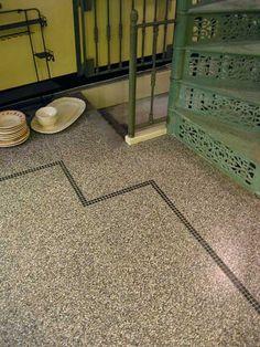 en praktisch sfeervolle tegelvoer: granitotegels voor gang keuken, toilet en badkamer  | via mozaiek utrecht