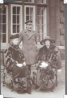 George V, Queen Mary, and Princess Mary, the Princess Royal