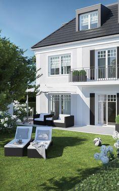 Dream House Exterior, Dream House Plans, Colonial House Plans, Entrance Design, Dream Apartment, White Houses, House Goals, Style At Home, House Colors