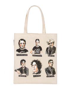 Punk Rock Authors tote bag