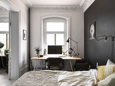 Black Wall via Homesick