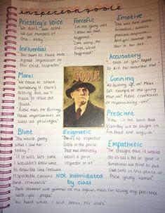 English Gcse Revision, Gcse Science Revision, Gcse English Language, An Inspector Calls Quotes, An Inspector Calls Revision, Revision Notes, Study Notes, Revision Tips, English Literature Notes