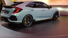 Honda Civic Hatchback Make North American Debut!