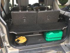 Custom made Suzuki Jimny parcel shelve