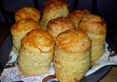 Sajtos pogácsa | Timcsi receptje - Cookpad receptek Macedonian Food, Savory Pastry, Hungarian Recipes, Winter Food, No Bake Cake, Scones, Bread Recipes, Good Food, Brunch