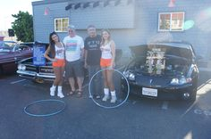 GTO Club at the Hooters Thursday Night Cruise.