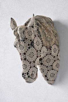 Crochet-Wrapped Animal & Insect Sculptures by Joana Vasconcelos