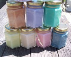 4 Oz Soy Candle Choose your Scent Eco Wick Highly Scented