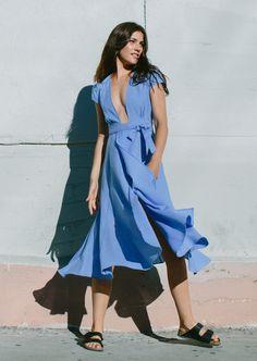 Anna Speckhart in the Nova Dress. photo by Ali Mitton