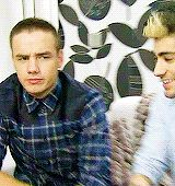 Liam's disapproving face. AKA the cutest thing ever. (gif)