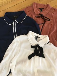 A few 1920s style blouses I found at Forever 21