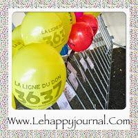 Téléthon 2014: laché de ballons de l'école de Scientrier