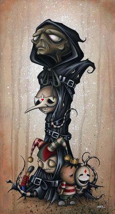Master of the Masquerade | Anthony Clarkson's Grim Wonderland