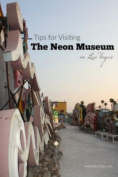 Fun Things to do in Las Vegas: Visit The Neon Museum Las Vegas. Check 10 Tips for Visiting Neon Museum Las Vegas. Las Vegas Hotels, Las Vegas Tips, Museums In Las Vegas, Las Vegas Vacation, Visit Las Vegas, Vacation Ideas, Vegas Getaway, Las Vegas Food, Girls Vacation