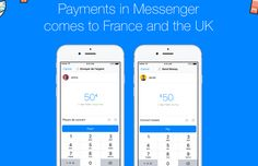 Facebook Messenger Payments Launch In The UK And France #Android #Google #news
