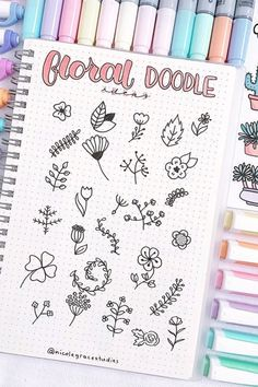 35 Adorable Bullet Journal Flower Ideas for 2019 - New Ideas . - 35 Adorable Bullet Journal Flower Ideas for 2019 – New Ideas - Bullet Journal School, Bullet Journal Headers, Bullet Journal Banner, Bullet Journal Writing, Bullet Journal Aesthetic, Bullet Journal Ideas Pages, Bullet Journal Spread, Bullet Journal Inspiration, Bullet Journal Numbers