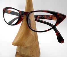 d35ea91835 50s 60s Retro Cat Eye Tortoiseshell  Peggy  Reading Glasses Clear or  Reglaze