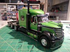 Lonestar tri-axle truck model