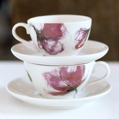 Finnish interior design company Pentik, Eden tea cups