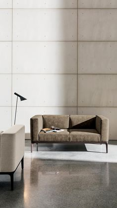 Leather Sofa, Living Room Furniture, Couch, Modern, Table, Slim, Design, Home Decor, Hall Furniture