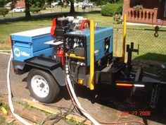 Weld Trailer with Compressor