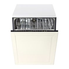 For future island...RENLIG Integrated dishwasher with door - Bodbyn off-white - IKEA