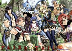 Anime Fairy Tail  Charles (Fairy Tail) Lucy Heartfilia Natsu Dragneel Erza Scarlet Wendy Marvell Gray Fullbuster Juvia Lockser Cana Alberona Elfman Strauss Mirajane Strauss Lisanna Strauss Gajeel Redfox Happy (Fairy Tail) Panther Lily (Fairy Tail) Wallpaper