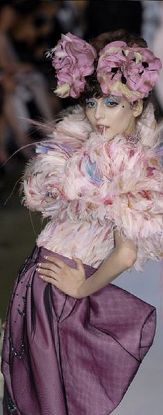 Christian Dior - Haute Couture fall 2007 - John Galliano