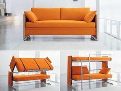 canapé convertible en lits superposés