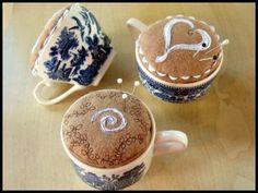 coffee cup pincushion