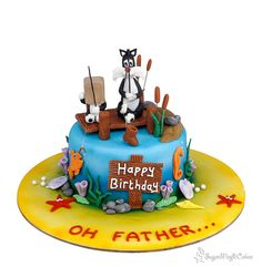Oh Father....Sylvester and son! - Cake by SugarMagicCakes (Christine)