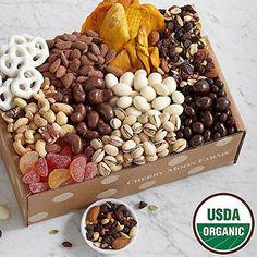 Shari's Berries - Organic Snacks Box w No Ribbon - 1 Count - Gourmet Baked Good Gifts
