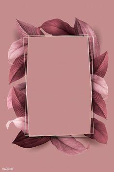 premium illustration of Rectangle foliage frame on pink Rectangle foliage frame on pink background vector Flower Background Wallpaper, Framed Wallpaper, Pastel Wallpaper, Cute Wallpaper Backgrounds, Flower Backgrounds, Aesthetic Iphone Wallpaper, Background Patterns, Cute Wallpapers, Aesthetic Wallpapers
