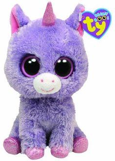 Ty Beanie Boos Rainbow - Unicorn by Ty, Ty Beanie Boos, Beanie Babies, Ty Babies, Ty Animals, Ty Stuffed Animals, Plush Animals, Ty Teddies, Ty Peluche, Ty Toys