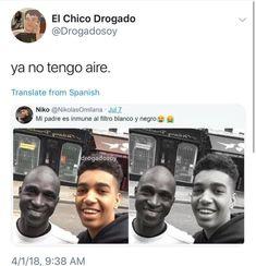 Humor Negro 2 - Fade Tutorial and Ideas Stupid Memes, Funny Memes, Spanish Jokes, Arabic Funny, Pinterest Memes, We Bare Bears, Book Memes, Tutorial, I Laughed