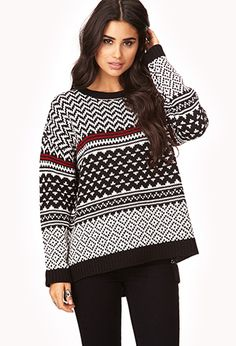 Zigzag Sweater | FOREVER 21 - 2000066630