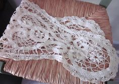Vintage Oblong Doily Cotton Mid by annmerrilldesigns on Etsy, $14.00