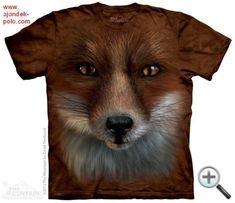 Unisex Clothing Big Face Fox Kids T-Shirt From The Mountain. What Does The Fox Say Childrens Fox Kids, Kids Boys, Fox Face, Insta Look, Animal Heads, Fox Animal, Mountain Man, Red Fox, Tye Dye