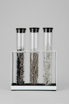 Urban-Outfitters---test tube office supply holders; would be perfect for my mad scientist boyfriend