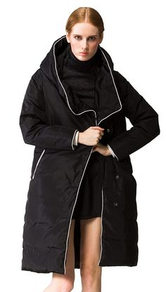 Shop a great selection of Orolay Women's Thickened Long Down Jacket Hood. Find new offer and Similar products for Orolay Women's Thickened Long Down Jacket Hood. Cool Jackets For Men, Best Winter Jackets, Winter Fur Coats, Best Winter Coats, Winter Coats Women, Coats For Women, Fall Winter, Outdoor Outfit, Hooded Jacket