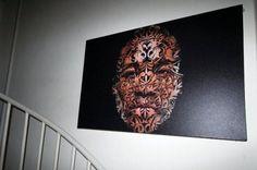 Lupe Fiasco - The Cool Ltd Ed. canvas art.