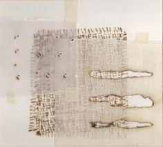 Ann Symes is a mixed media and printmaking artist currently working with Japanese woodblock printing Japanese woodblock printing Textile Texture, Textile Art, Mixed Media Collage, Collage Art, Paper Collages, Burnt Paper, Stitching On Paper, Plastic Art, Abstract Images