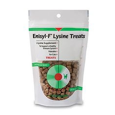 Highly palatable Enisyl F treats can reduce the viral shedding of the feline herpes virus. Also helps lessen the severity...